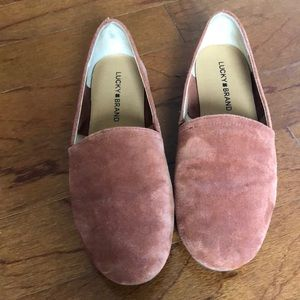 Leather lucky brand shoes